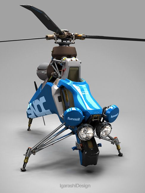 Personal Helicopter.