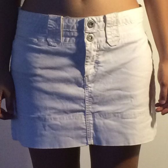 White mini skirt  American Eagle Outfitters Skirts Mini