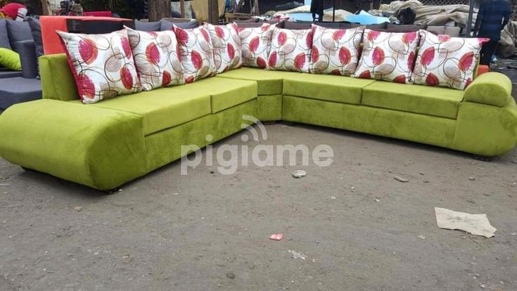 Sofa Set L Shape 7 Seater In Nairobi, Best Sofa Set In Kenya