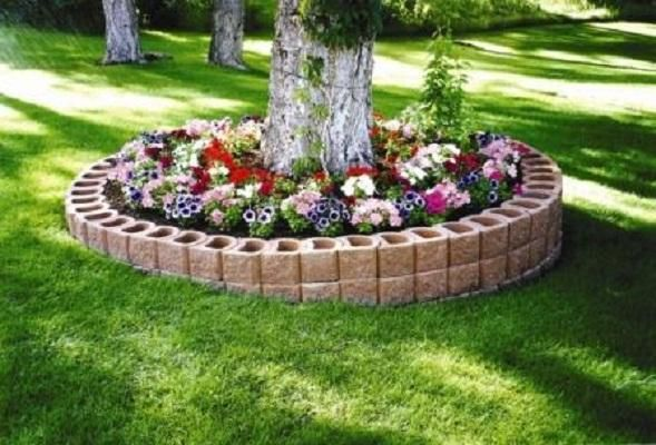 retaining wall ideas | Retaining Wall Blocks for Landscaping Design Ideas