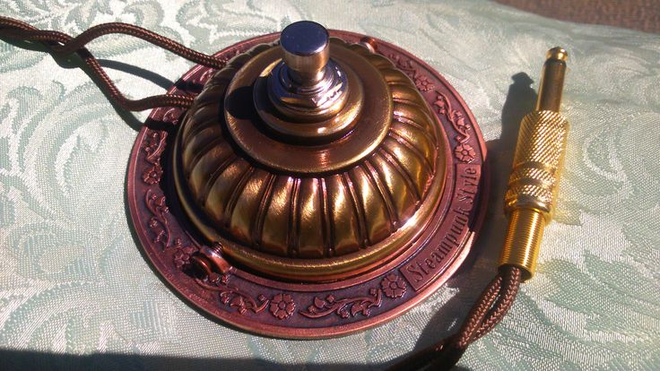 steampunk on off botton foot pedal