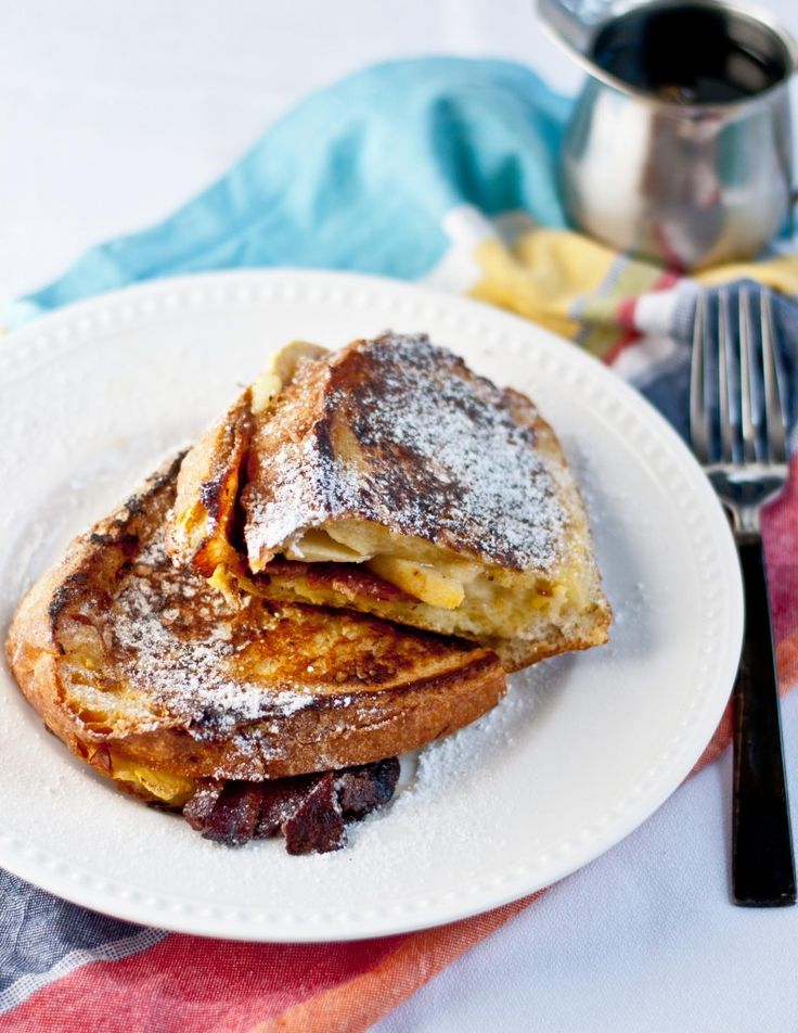 Bacon, Apple, and Dubliner Cheese Stuffed French Toast | Neighborfood
