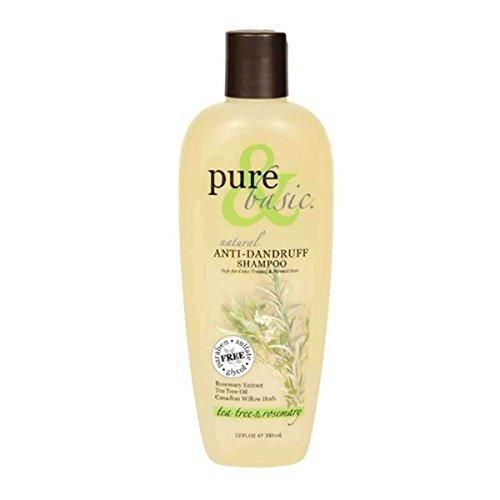 Pure & Basic Shampoo Natural Anti-Dandruff 12-Ounce