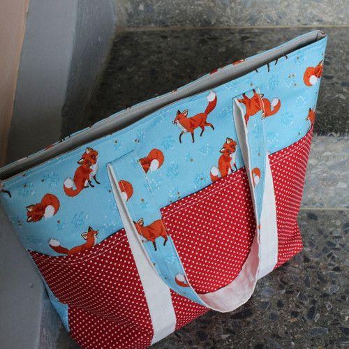 Nákupní taška Liška Bystrouška
