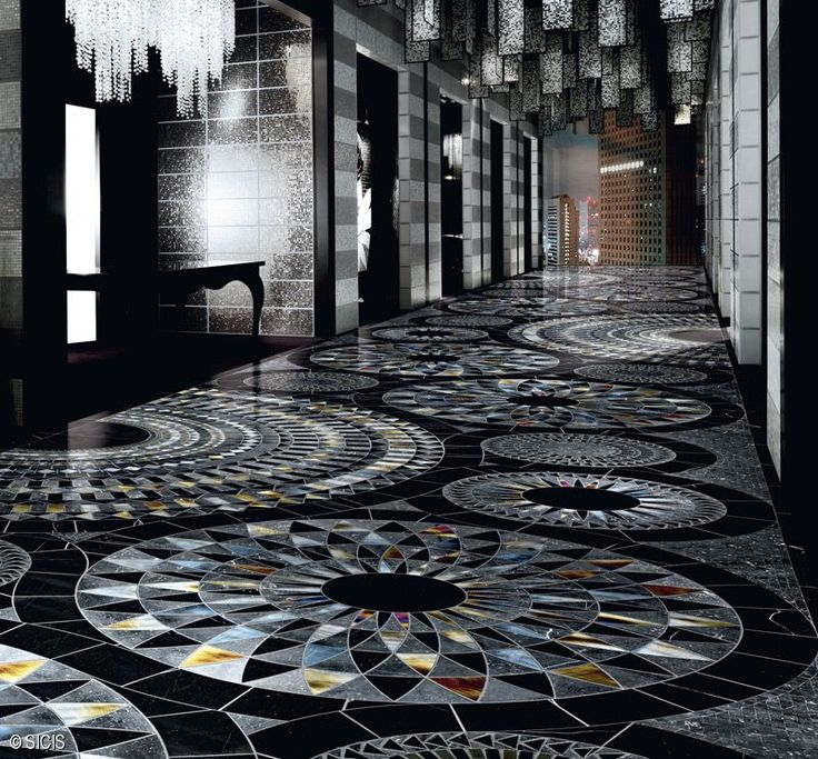 Amazing - Installation Suggestions Sicis - The Art Mosaic Factory