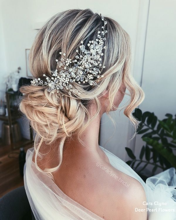 Hochzeitsfrisuren: Cara Clyne Lange Hochzeitsfrisuren und Hochzeits-Hochzeiten #weddin
