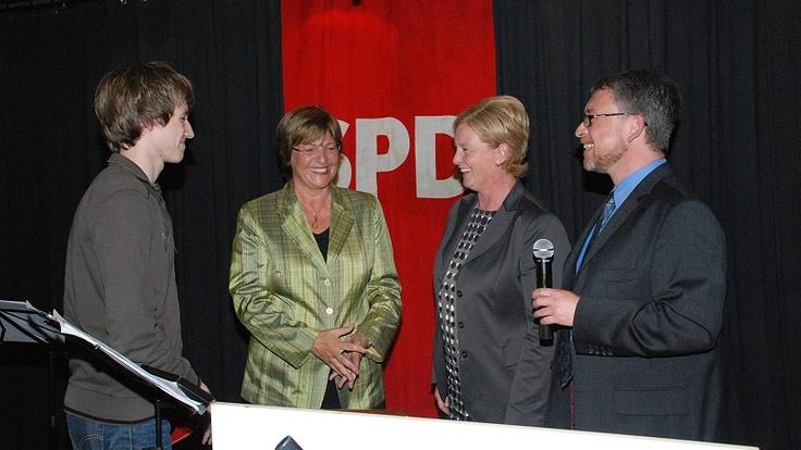 Mit Ulla Schmidt MdB in Gummersbach