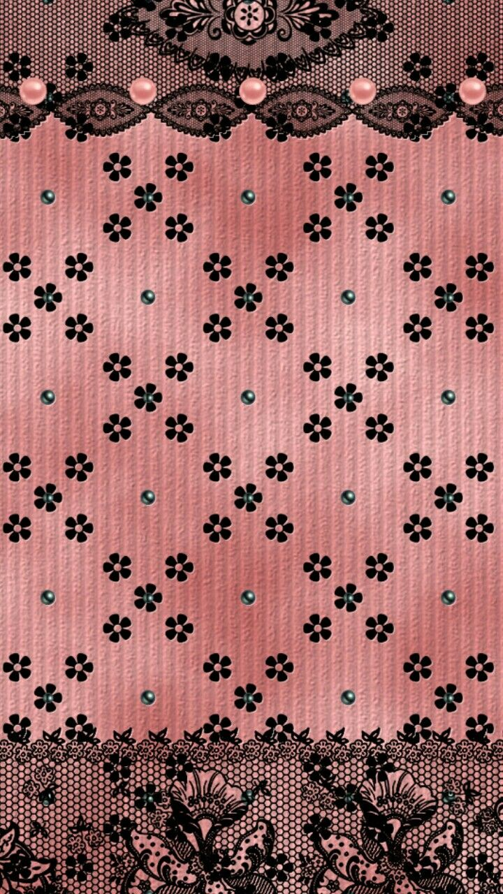 lace pearls pink wallpaper - photo #8