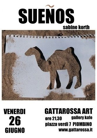 Sabine Korth Gattarossa Art Gallery Kafe Piombino (LI)