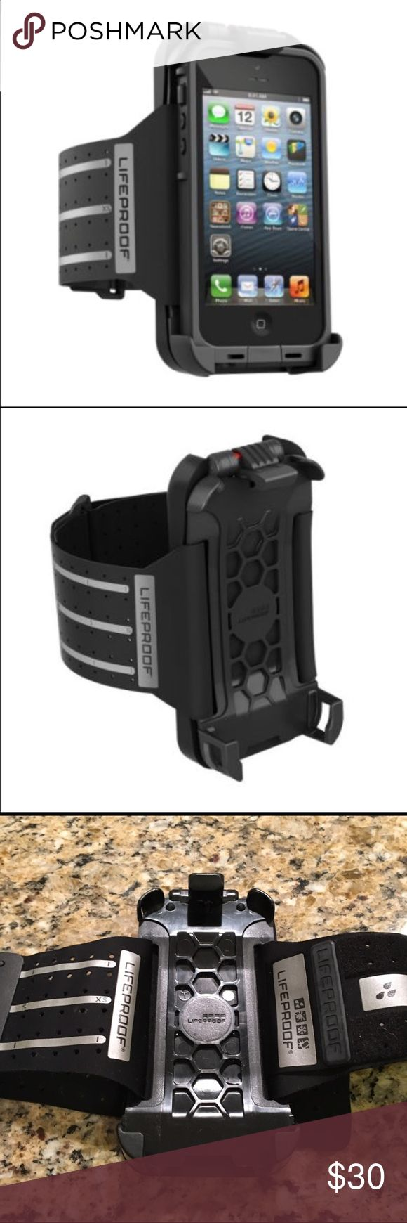 LIFEPROOF iPhone 5 Armband Only used once. For iPhone 5. Great for running or working out! LifeProof Accessories Phone Cases