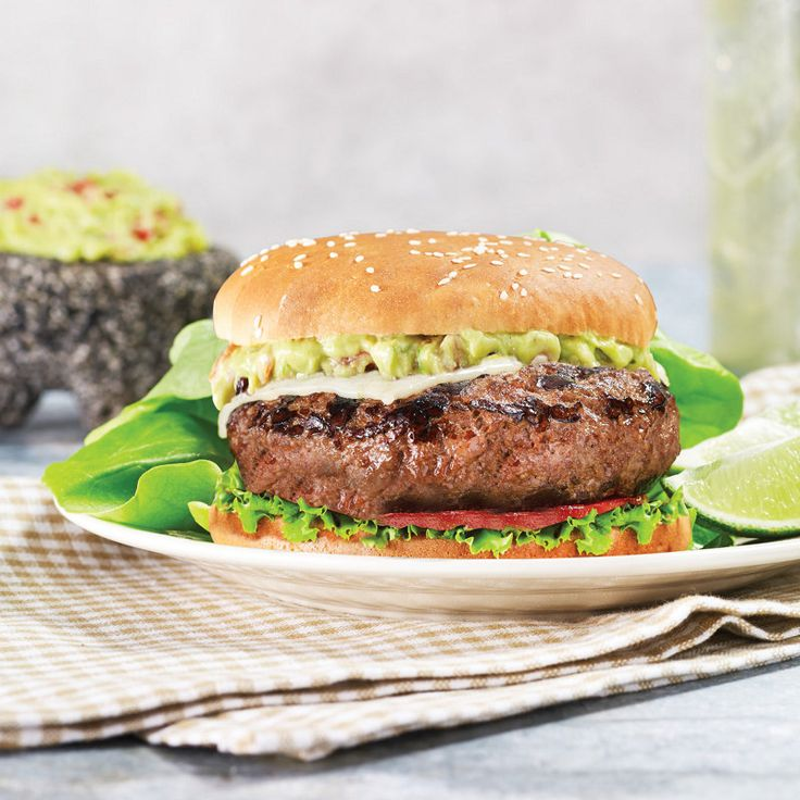 Guac and Roll Burger | Recipe | Guacamole, Jack o'connell and Spicy