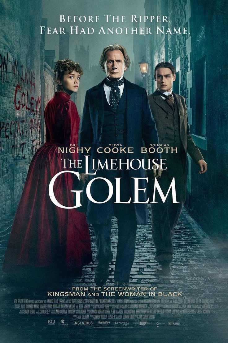 The Limehouse Golem Official Movie Trailer   A series of murders has shaken the community to the point where people believe that only a legendary creature from dark times - the mythical so-called Golem - must be responsible.