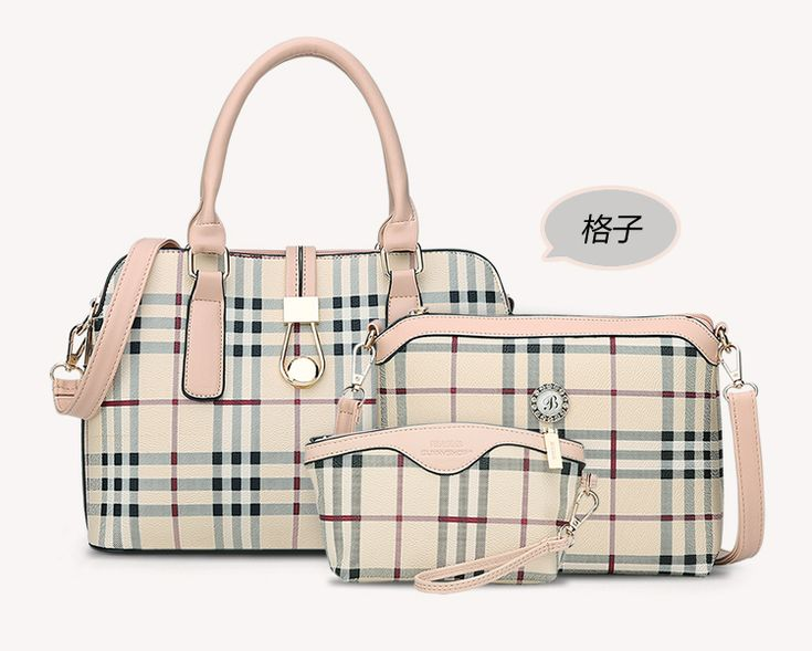 Cheap bag ladies, Buy Quality brand shoulder bag directly from China shoulder bags Suppliers: 3 piece set brand Simple Leisure Plaid Women's Handbags Shoulder Bag PU-leather FamaleTote Bags Ladies Shoulder Messenger Bags