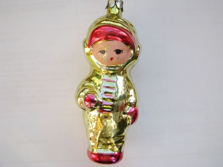 VTG SOVIET RUSSIAN GLASS ORNAMENT DECORATION Christmas TOY New Yer # 3 in Glass, Crystal | eBay