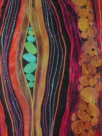 fiber art by karen kamenetzky