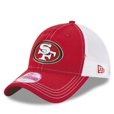 New Era San Francisco 49ers Women's Scarlet Spirited 9TWENTY Adjustable Hat