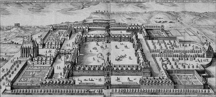 Hopital Saint louis, 1607-11, Paris, France