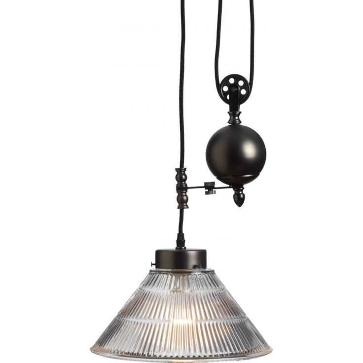 Functional, simple yet striking in appearance, the Watson pendant features an adjustable rise and fall and is perfect for any area of the house.