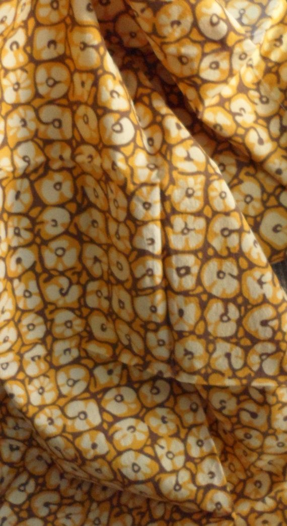 VINTAGE EVERFAST COTTON Fabric/1950's by BAGLADYFROMTHEBAY on Etsy