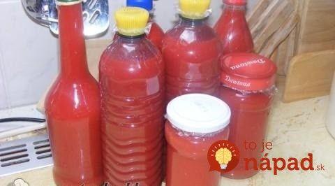 Domáci zázrak na vysoký cholesterol: Urobte zásobu domácej paradajkovej šťavy bez varenia!