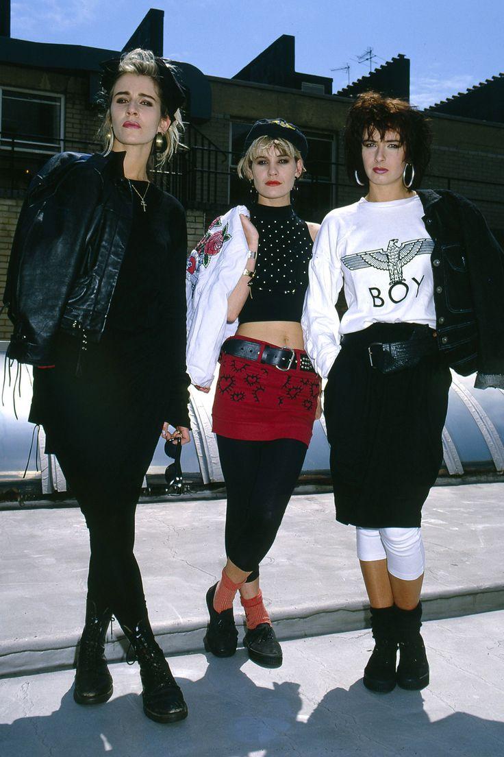 Bananarama 80s fashion