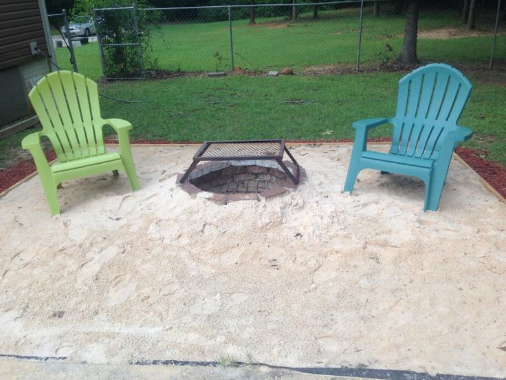 Beach fire pits, Backyard beach and Fire pits on Pinterest