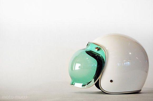 old school bike helmet~