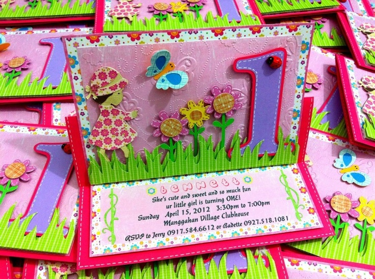 Hugs and Stitches Invitation Card