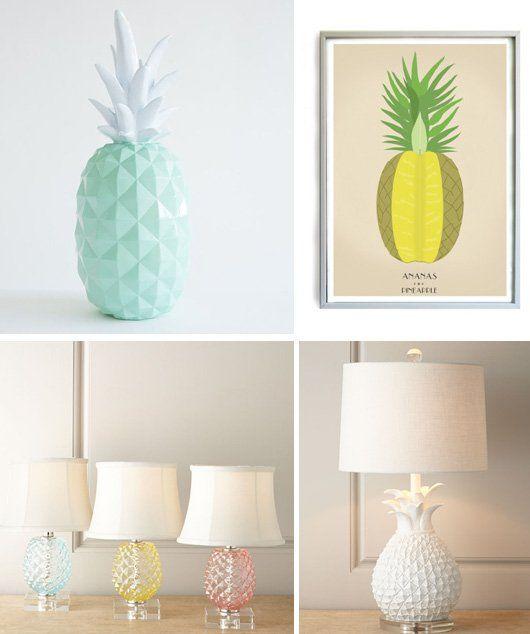 Les 254 meilleures images du tableau ananas - Ananas maison du monde ...