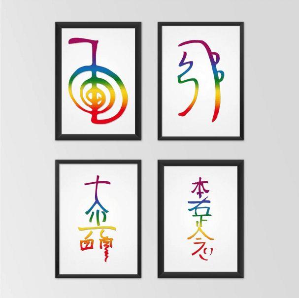 7 Pôsteres Em Alta Resolução Para Você... Imprimir e colocar no seu quarto, na sua sala, ou no seu consultório, Harmonizar o ambiente e gerar tranquilidade.