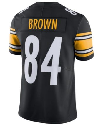 New Nike Men Antonio Brown Pittsburgh Steelers Vapor Untouchable Limited  hot sale
