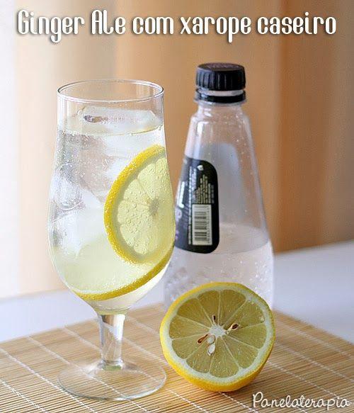 PANELATERAPIA - Blog de Culinária, Gastronomia e Receitas: Refrigerante de Gengibre Caseiro (Ginger Ale)