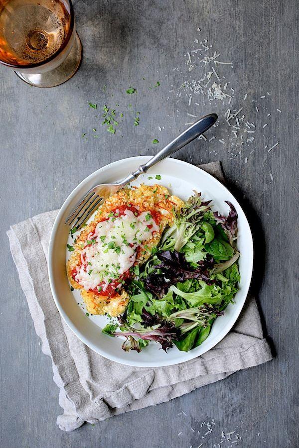 Cauliflower Parmigiana Is A Vegetarian Twist On Chicken Parmigiana