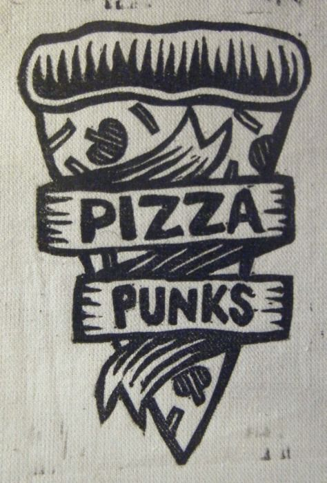 Pizza Punks Tattoo.*