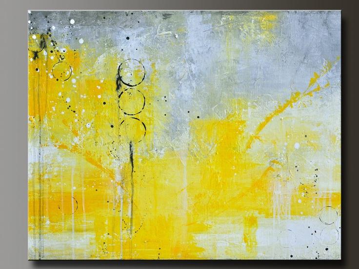 Translation - 24 x 30 - Abstract Acrylic Painting - Contemporary Wall Art. via Etsy.