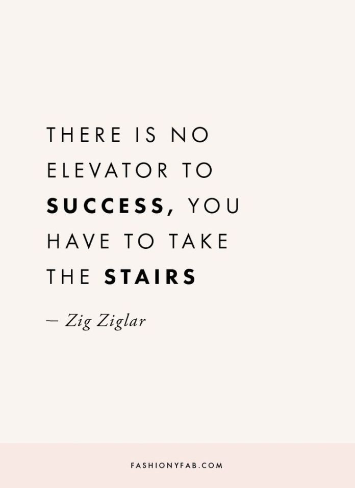 Work Quotes What Is The Way To Success Quote Quote