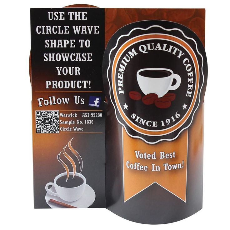 Table tents shouldnu0027t be boring! Our unique Circle Wave design is perfect for bringing some life to your table ads at restaurants bars and more.  sc 1 st  Pinterest & 26 best gd243a table tents images on Pinterest   Table tents ...