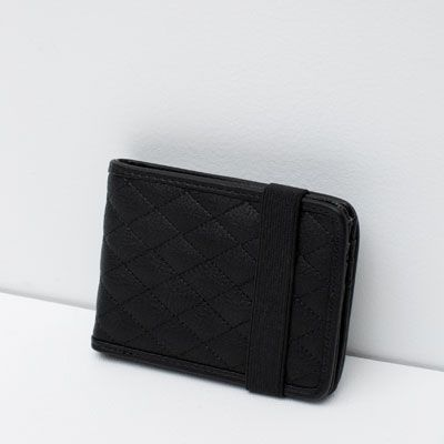 QUILTED WALLET WITH STRETCH   EUR 15.00