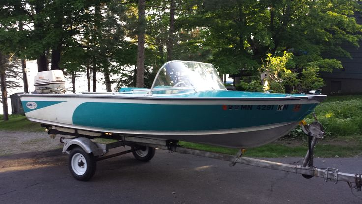 1965 alumacraft belmara boat vintage snowmobiles for Alaska fishing jobs craigslist