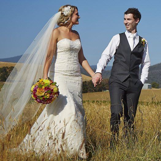 Nick and Tim's beautiful winery wedding!