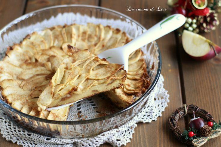 Torta di pandoro alle mele