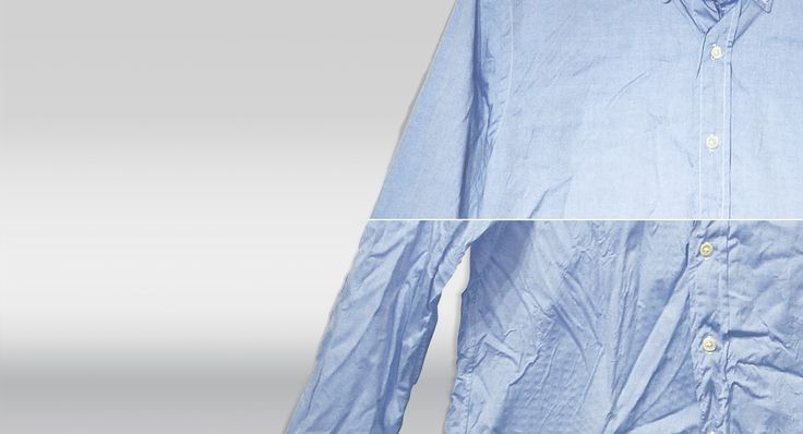 Gekreukt kleding in droger met 4 ijsklontjes. 15 min op hoogste stand en kreukels weg!