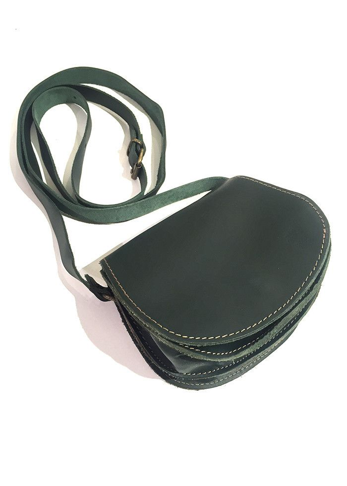 MINI ROUNDED LEATHER BAG
