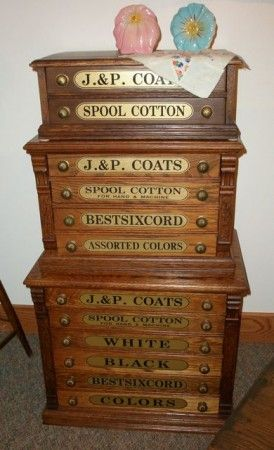 142 best SPOOL, NEEDLE & SHIRT CABINETS images on Pinterest ...