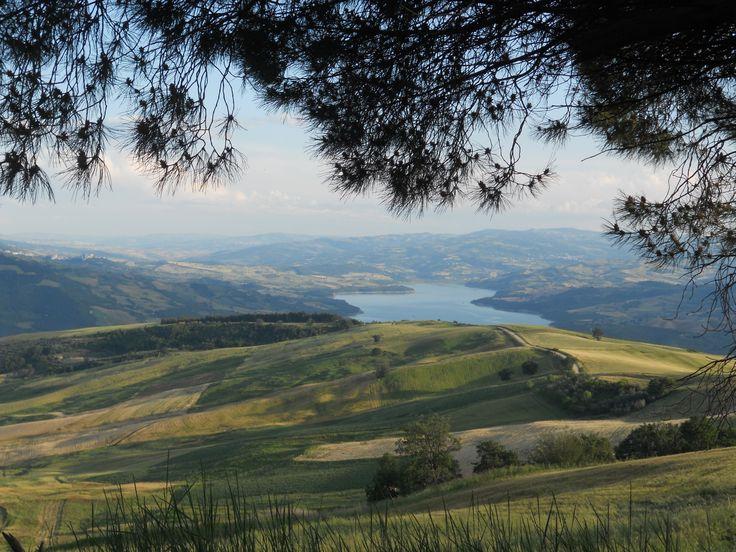 Colletorto - Lago di Occhito. By Stefania Antonelli