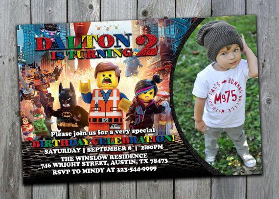 Lego Invitation  Lego Movie Invitation Lego by PerfectPrintableCo