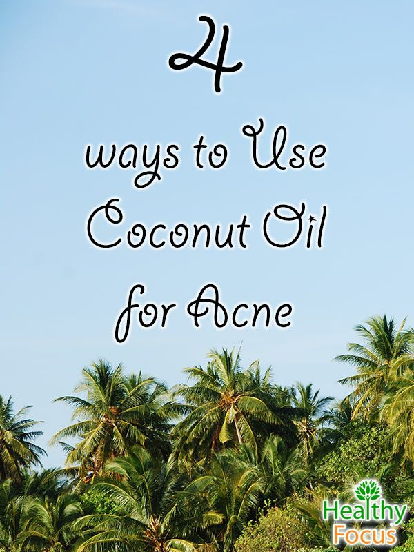 Fortunately, for most people acne tends to disappear and the symptoms diminish after puberty. For those who have acne prone skin you might like to try a natural and effective remedy in the shape of coconut oil.