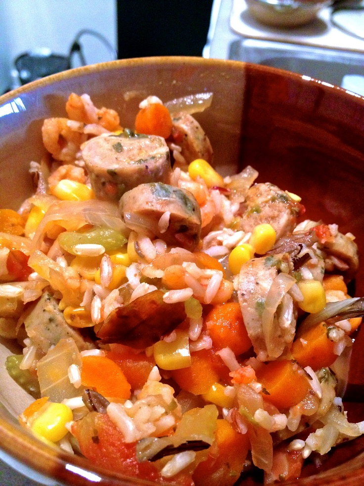 Creole Ham, Sausage, And Shrimp Jambalaya Recipe — Dishmaps