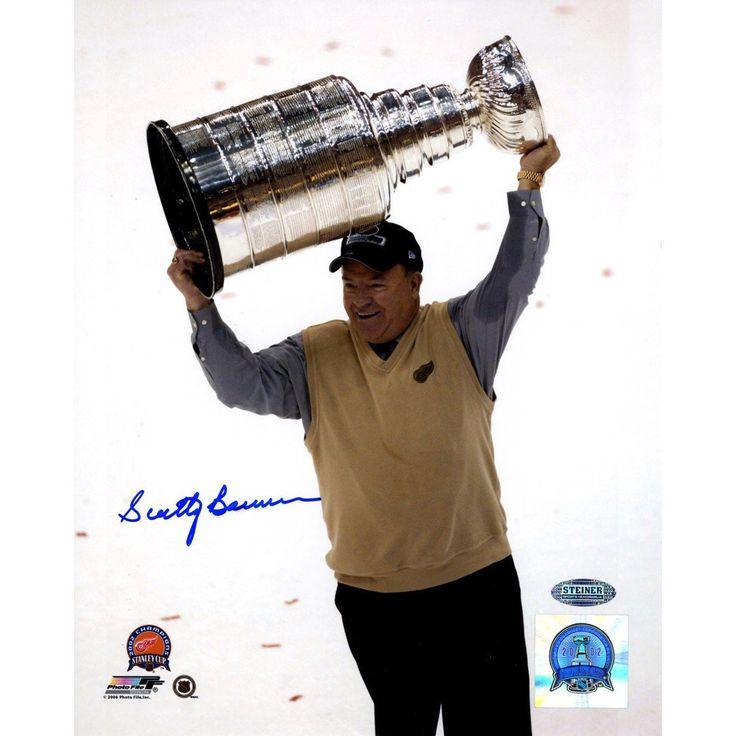 Scotty Bowman Cup Overhead Vertical 8x10 Photo