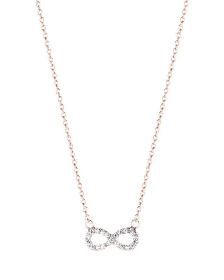 s. Oliver roségoldene Halskette Infinity | bei Valmano entdecken